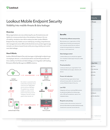 Mobile Endpoint Security Datasheet
