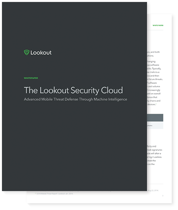 The Lookout Security Cloud whitepaper